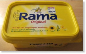 Hydrogenated fats like those in margarine are extremely toxic